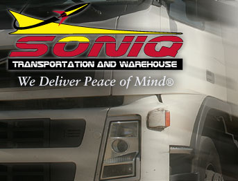 Soniq Service Transportation and Warehouse We deliver Peace of Mind